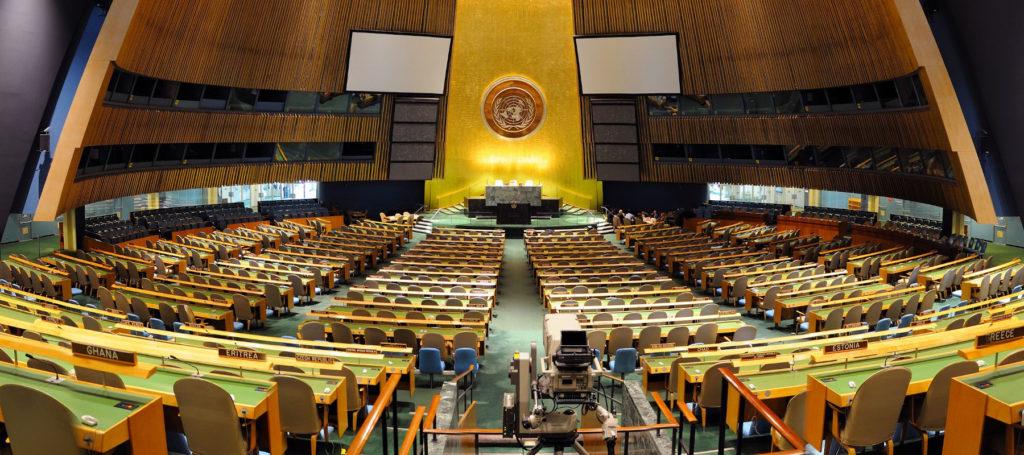 Dolmetscher UN Konferenz